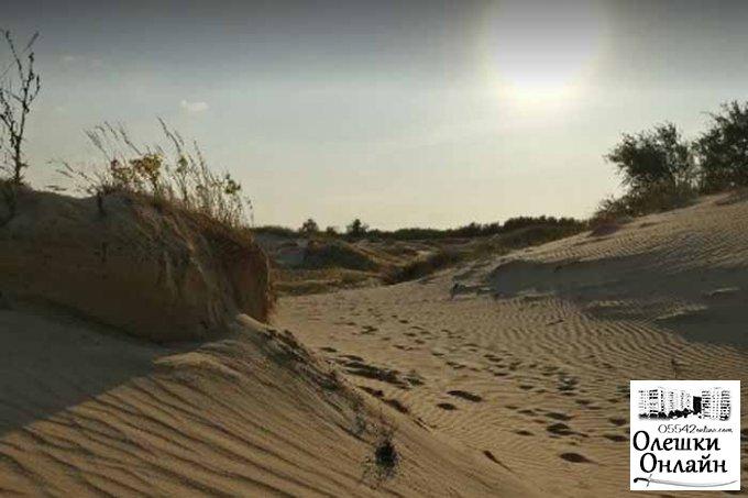 Від Олешківської пустелі й епідемія не відлякує