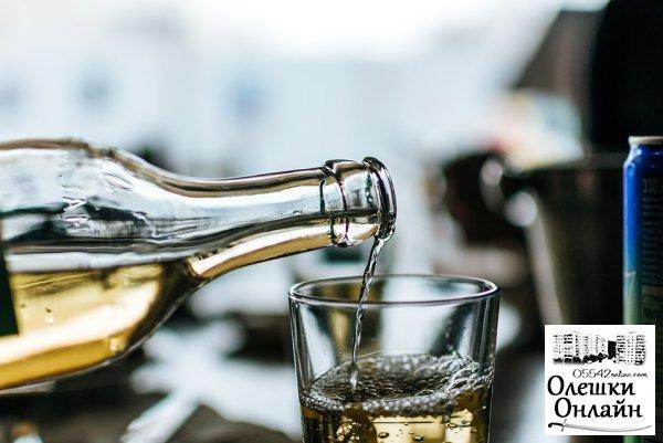 В Олешках продавец ненастоящего вина и коньяка заплатит кругленький штраф