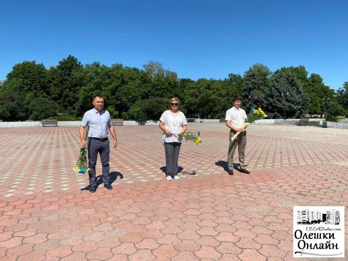 Відбулось покладання квітів з нагоди Дня Конституції України