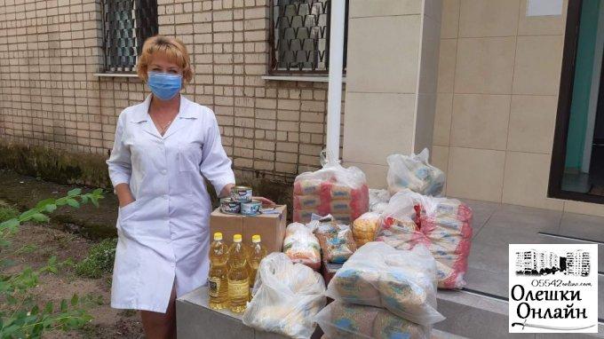 Продуктові набори для хворих на туберкульоз та ВІЛ/СНІД