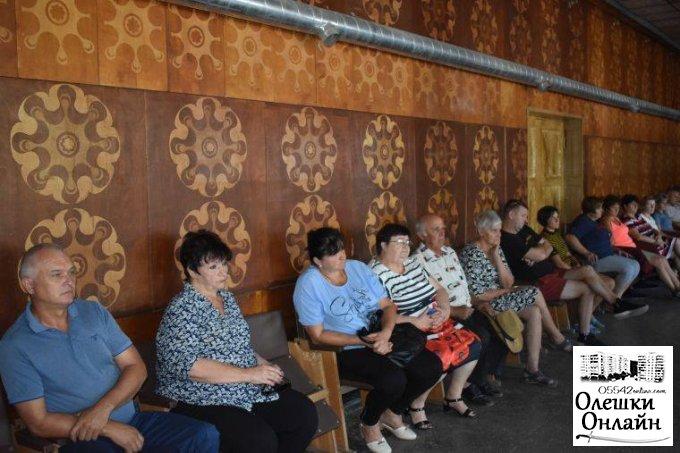 Олешківський міський голова Дмитро Воронов провів виїзну робочу нараду