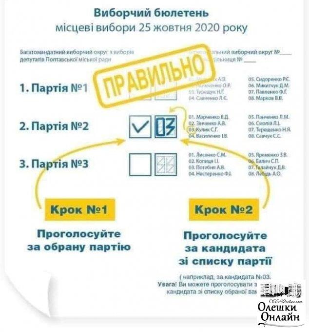 25 жовтня вибори - не такі як раніше!