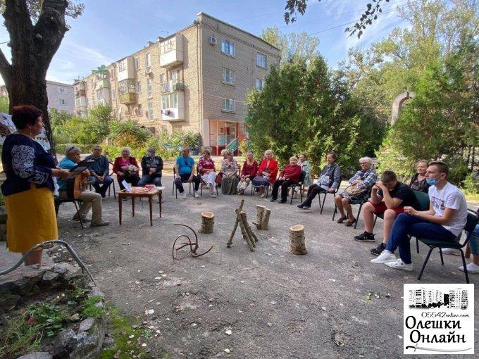 Зустріч з «Олешківським Робінзоном» в міській бібліотеці