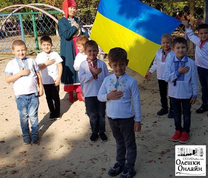 Козацькі забави в Олешківському ДНЗ№3