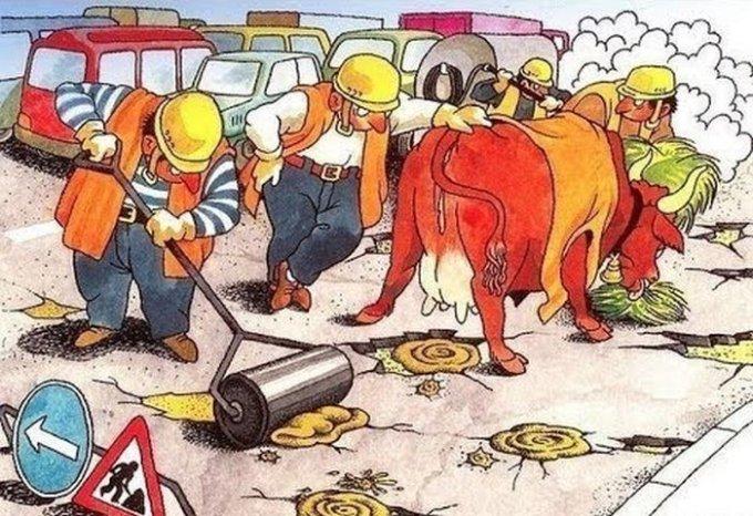 Когда и как в Олешках будут ремонтировать дороги