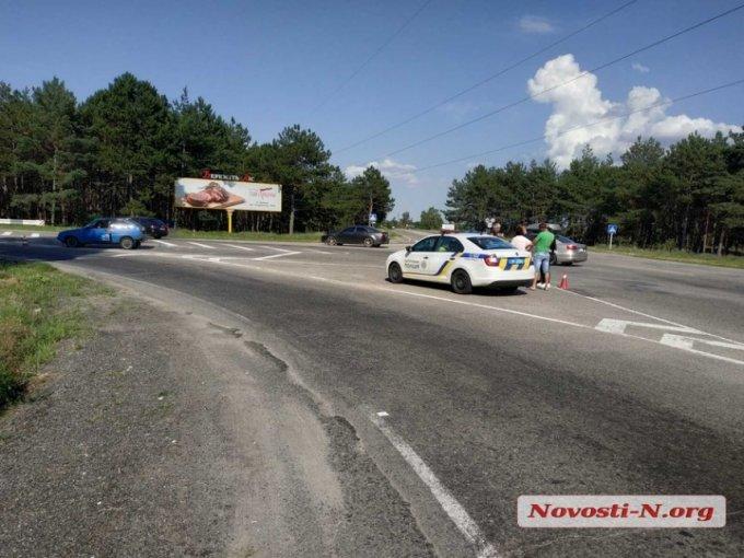 ДТП на Олешковской объездной трассе (фото)