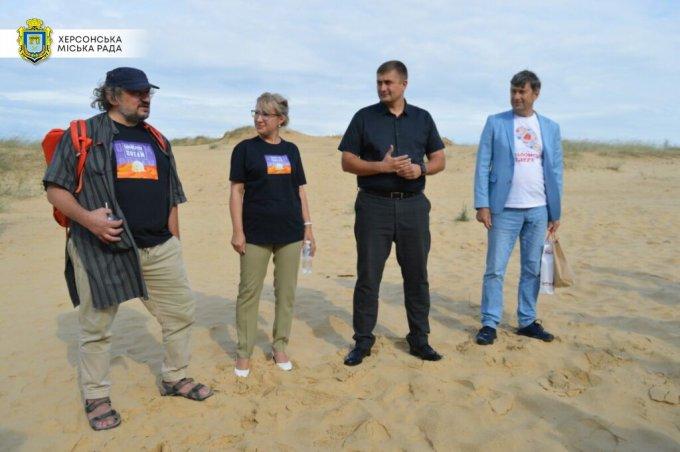 В Олешківській пустелі презентували фестиваль Dream ГОГОЛЬFEST 2021