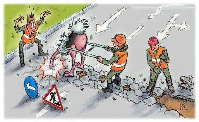 В Олешках провели очередной мастер-класс по строительству европейских дорог