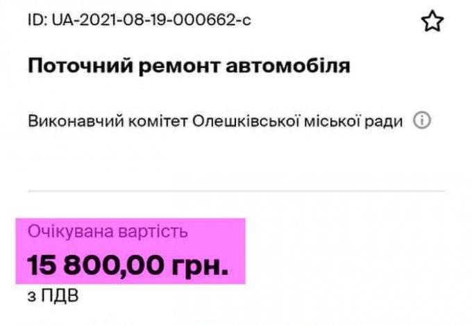 Куда еще уходят деньги налогоплательщиков в Олешках
