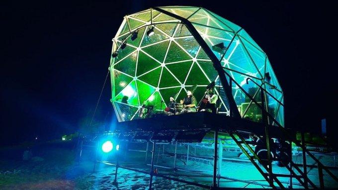 На ГОГОЛЬFest показали перфоманс в Олешківській пустелі