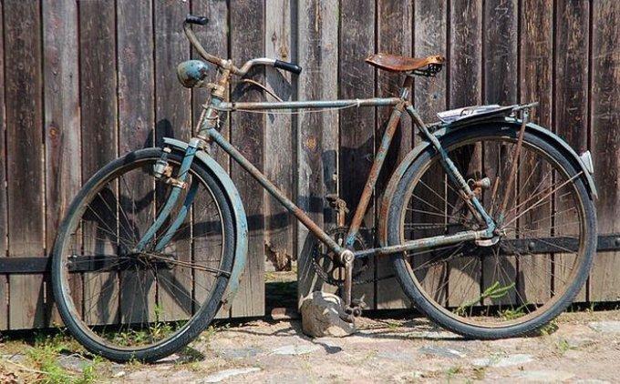 Во сколько жителям Олешек обходится велосипед за 1 гривну