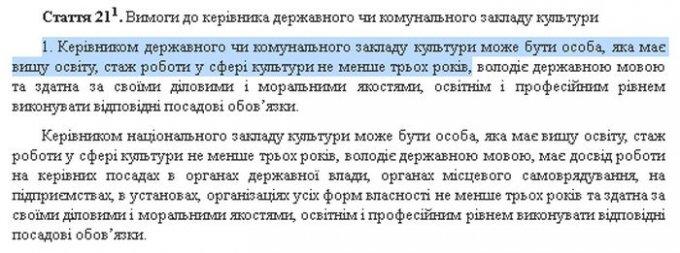 Как в Олешках игнорируют украниское законодательство