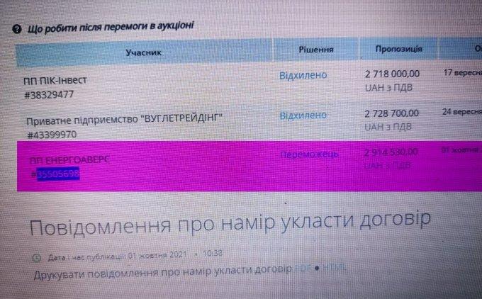 Продолжение истории с углём в Олешковской ОТГ